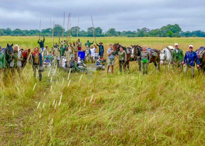 Safari a Caballo en el Delta del Okavango