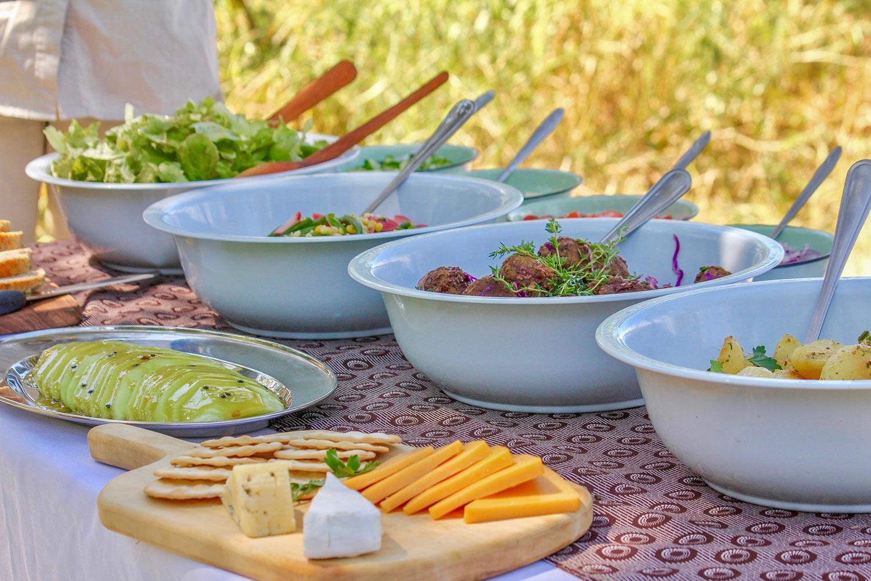 Almuerzo Okavango