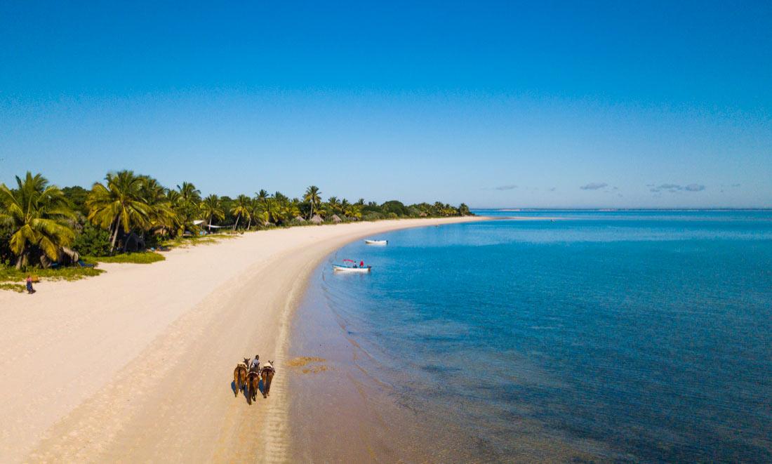 a Caballo en Mozambique