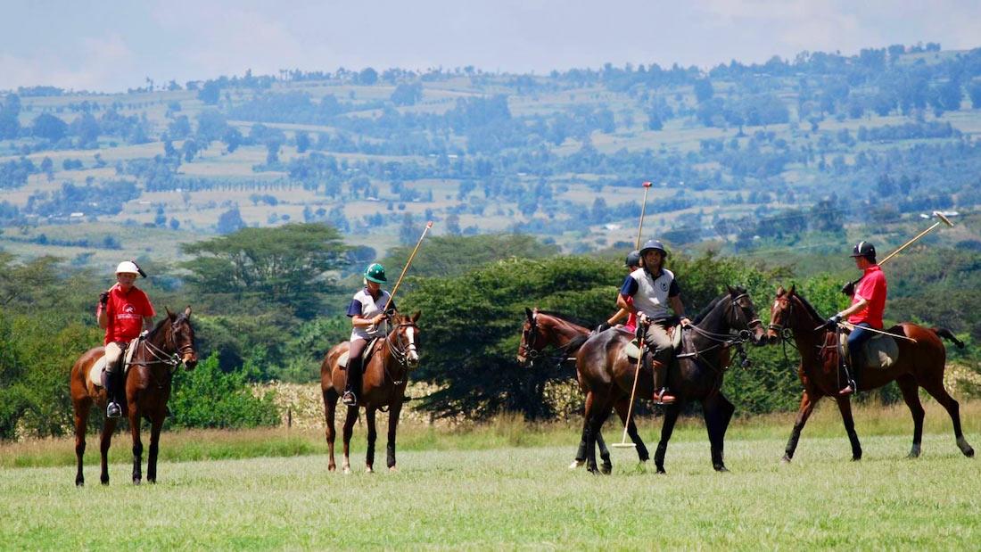 Polo en Kenia